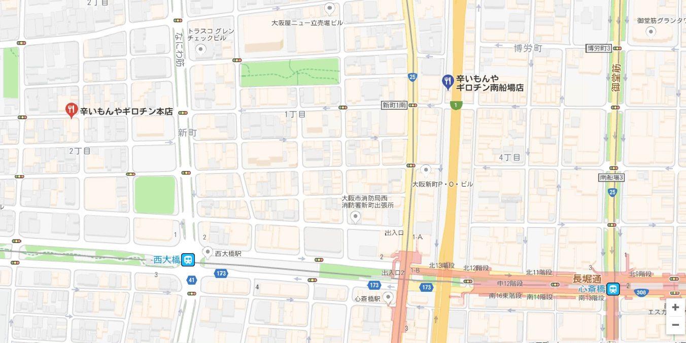 ギロチン本店地図